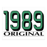 Original 1989 postal