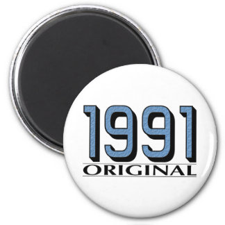 Original 1991 imán redondo 5 cm