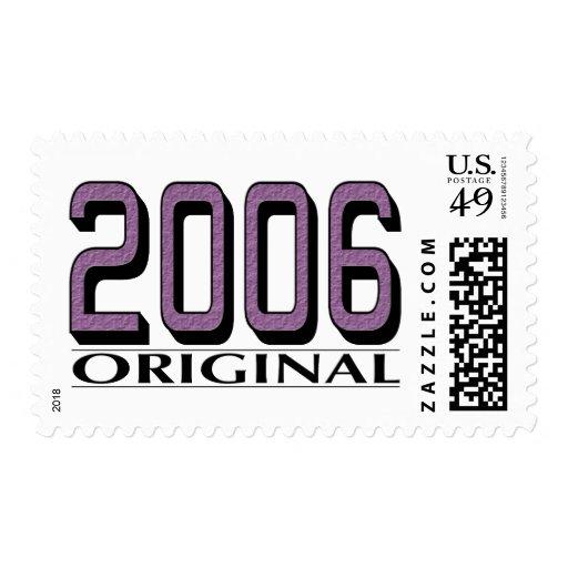 Original 2006 franqueo
