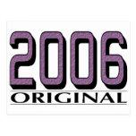Original 2006 postal