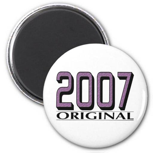 Original 2007 iman de nevera