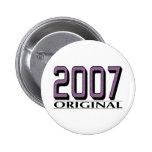 Original 2007 pin