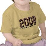 Original 2008 camisetas