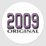 Original 2009 etiqueta