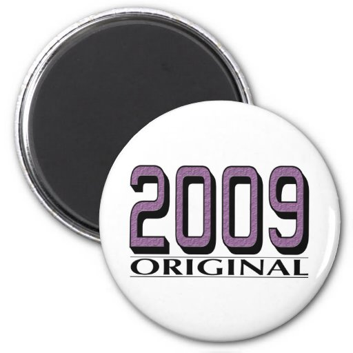 Original 2009 imán redondo 5 cm