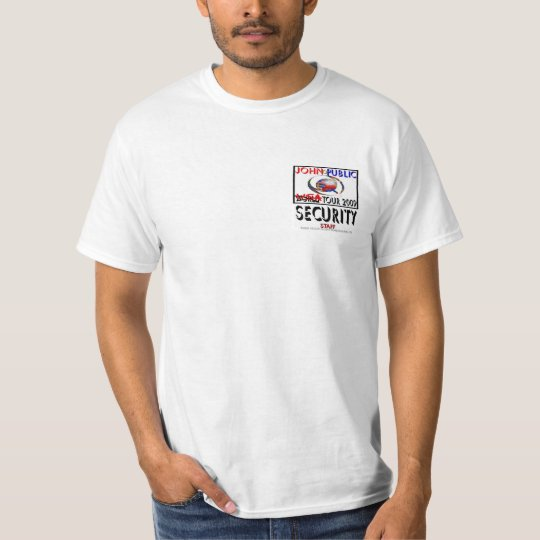 Original 2009 John Q. Public USA Tour T-shirt! T-Shirt