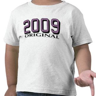 Original 2009 camisetas