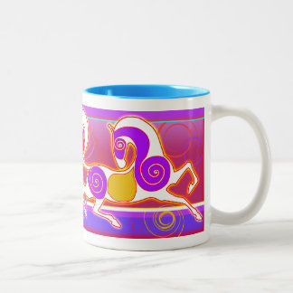 Original 2014 Valentine's Day MinkMug Two-Tone Coffee Mug