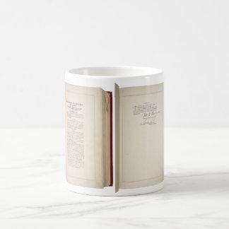 ORIGINAL 20th Amendment U.S. Constitution Classic White Coffee Mug