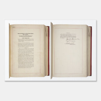 ORIGINAL 20th Amendment U S Constitution Sign