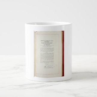 ORIGINAL 22nd Amendment U.S. Constitution Giant Coffee Mug