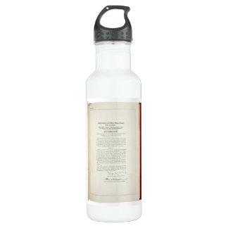 ORIGINAL 22nd Amendment U.S. Constitution Stainless Steel Water Bottle