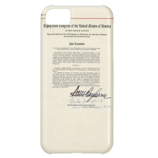 ORIGINAL 23rd Amendment U.S. Constitution Cover For iPhone 5C