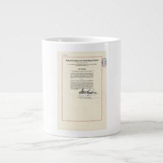 ORIGINAL 23rd Amendment U.S. Constitution 20 Oz Large Ceramic Coffee Mug