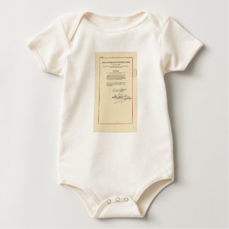 ORIGINAL 26th Amendment U.S. Constitution Baby Bodysuit