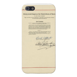 ORIGINAL 26th Amendment U.S. Constitution Case For iPhone SE/5/5s
