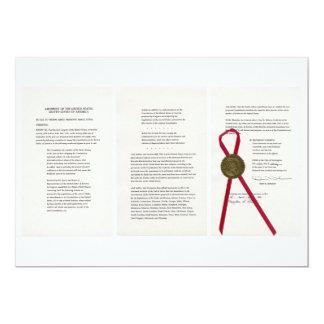ORIGINAL 27th Amendment U.S. Constitution Card