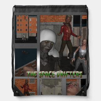 Original 3D characters Drawstring Backpack