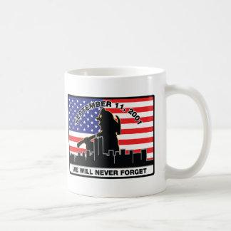 Original 9/11 Firefighter Design Classic White Coffee Mug