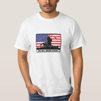 Original 9/11 Firefighter Design T-Shirt