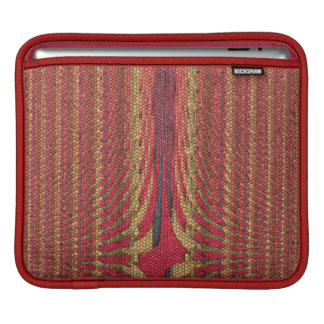 Original Aboriginal Inspired Abstract Pattern iPad Sleeve
