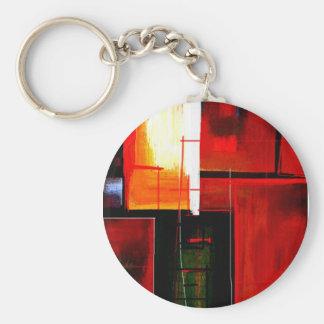 Original Abstract Art Keychain