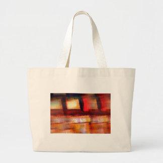 Original Abstract Art Large Tote Bag