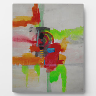 Original Abstract Artwork Plaque
