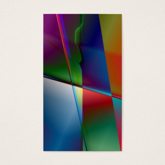 Original Abstract Business Card