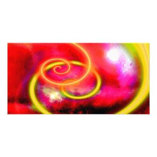 Original Abstract Digital Art Card
