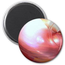 Original Abstract Digital Art Magnet