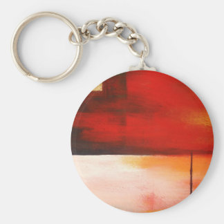 Original Abstract Painting Art Keychain