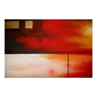 Original Abstract Painting Art Poster Modern