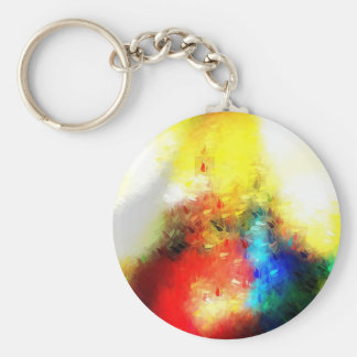 Original Abstract Painting Keychain