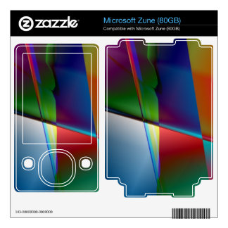 Original Abstract Skin For Zune