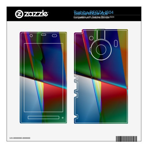 Original Abstract Toshiba REGZA Skins