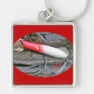 Original AJS Pencil Popper Fishing Lure Keychain