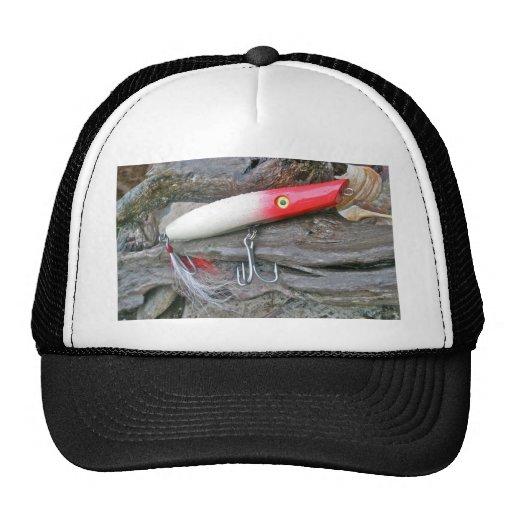 Original AJS Pencil Popper Fishing Lure Trucker Hat