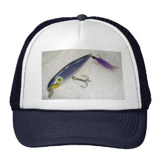 Original AJS Purple Swimmer Saltwater Lure #1 Hat