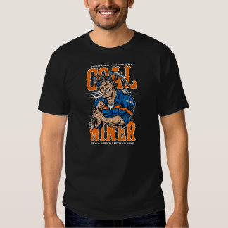 original american hero, the coal miner T-Shirt