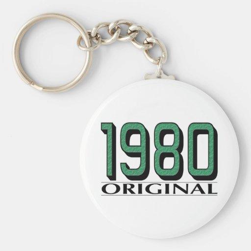 Original an o 80 llavero redondo tipo pin