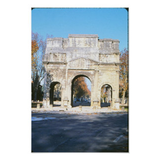 Original Arch de Triumphe Print