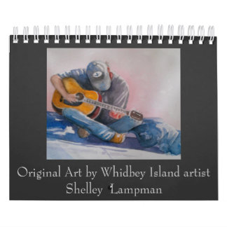 Original art by Shelley Lampman Calendar