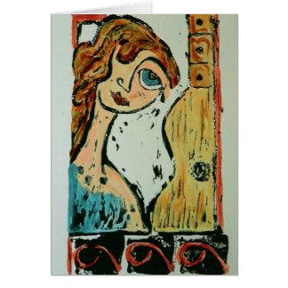 Original Art Card 'Music Lover II'