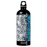 """Original art: """"comparing stereotypes"""" SIGG traveler 1.0L water bottle"""