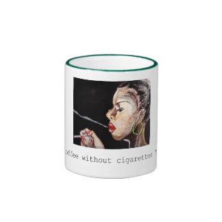 Original art is designated as motif ringer mug