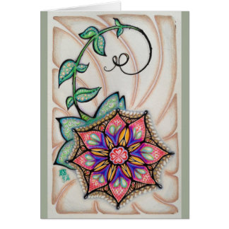 Original Art Note Card, white envelopes included Card