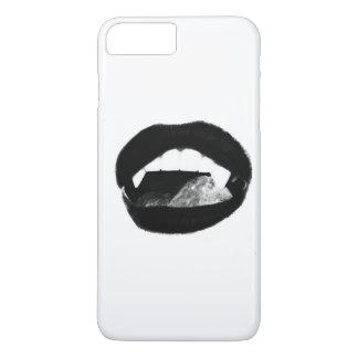 Original art vampire lips iPhone 8 plus/7 plus case
