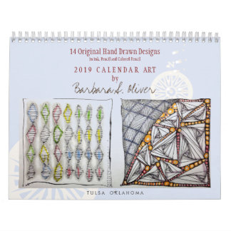 Original Art Wall Calendar