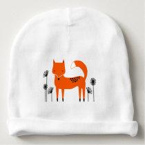 """Original art work"" country wild fox Baby Beanie"